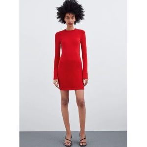 NWT Zara Fitted Dress (size S/M)